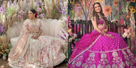 #Trending: Matching The Bridal Mehendi Seating To The Lehenga!