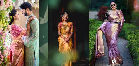 Kanjeevaram Colour Trends For 2021 Brides