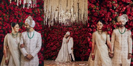 An Intimate Yet Grand Mumbai Wedding Planned By The Bride Herself!