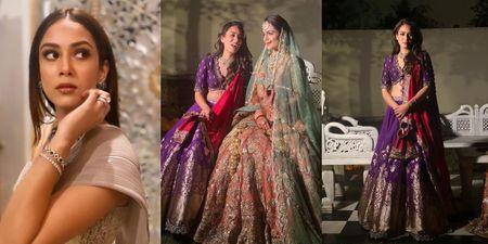 Mira Rajput Made The Prettiest Bridesmaid At Her BFF's Wedding!