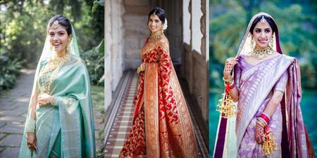Want To Rock A Saree On Your Intimate Wedding? Here are 10 Gorgeous Picks!