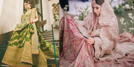 Trending Lehengas In Dual Tones From The Same Colour Palette