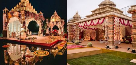Temple Mandap Designs For Your Wedding