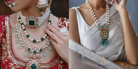 These Bridal Necklaces With Pearl Details Are Definitely On Our Wishlist!