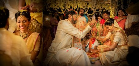 South Indian Destination Wedding In Goa With Beautiful Candid Shots