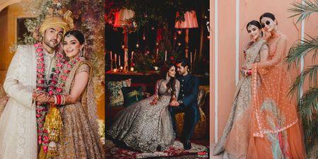 A Wedding With Gorgeous Bridal Looks, Stunning Decor & Alia Bhatt As A Bridesmaid!