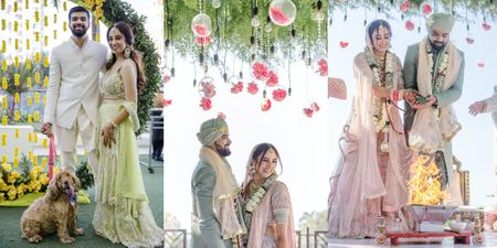 This Bombay Wedding Was All About Pastel Hues & A KJo-style Love Story