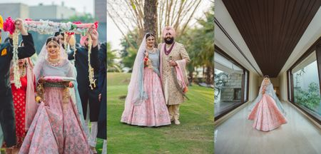 Intimate Ludhiana Wedding With Pastel Hues & A Subtle Bridal Look