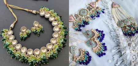 Gorgeous Ombré & Multi-Hued Jewellery That Is Taking Over Weddings!