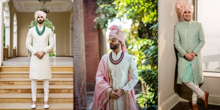 Grooms Who Wore A Pink Safa On Their Wedding Day And Nailed This Hue