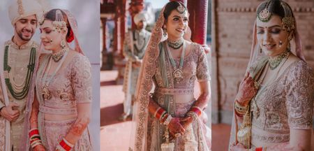 Stunning Jammu Wedding With Pin-Worthy Jewellery