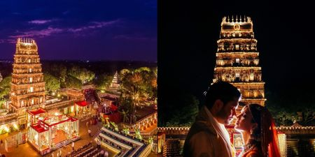 This Wedding Took Place At An Ancient 11,000 Year Old Temple & Was Stunning!