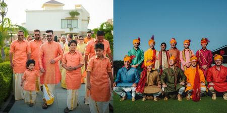 The Coolest Coordinated Groomsmen Outfits We Spotted! *South Edition