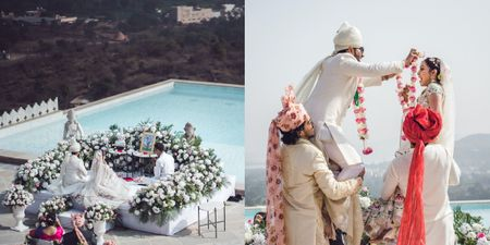 A Serene Wedding In Udaipur With Buddhist Rituals & A Lockdown Love Story!