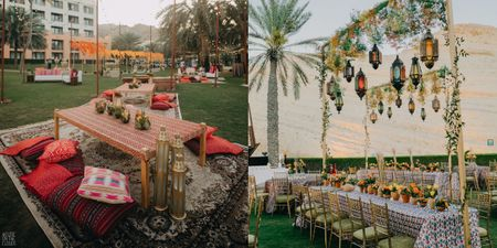 This Wedding Had The Most Amazing Outdoor Seating Ideas!