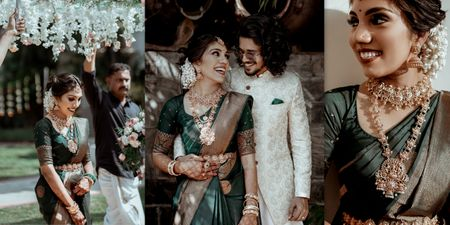 Elegant Kochi Wedding Of A Photographer Couple With 50 Guests