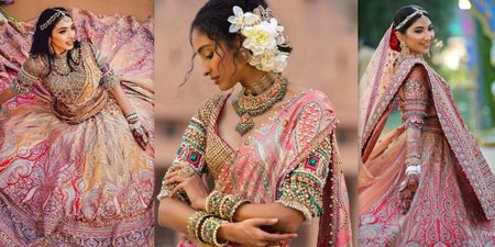 1 Tarun Tahiliani Lehenga, 5 Brides Who Styled It Differently!