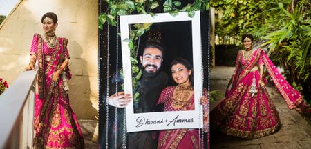 An Intimate Mumbai Wedding With A Bride Who Wore Her Dream Lehenga!