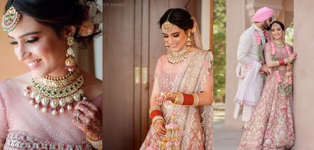 Gorgeous Jaipur Wedding With A Bright Pink Bridal Lehenga