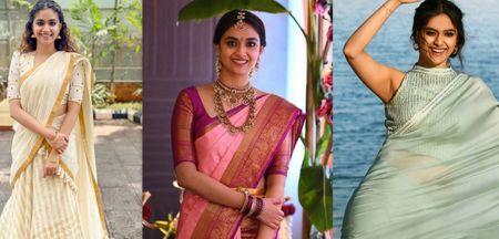 Keerthy Suresh Gives Us Major Bridesmaids Goals
