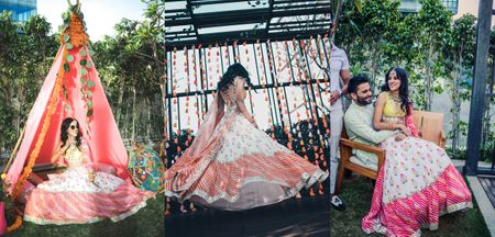 Pandemic Wedding In Bangalore With Gorgeous Bridal Outfits
