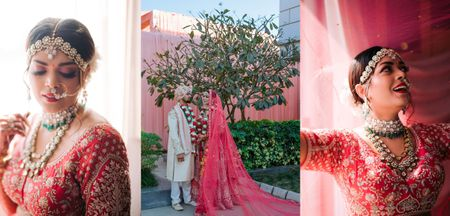 A Staycation Coronial Wedding Where The Bride Designed All The Outfits