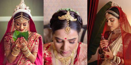 Gorgeous 'Topor' Designs For The Modern Bengali Brides