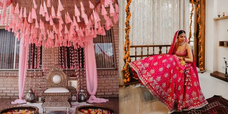 Enchanting Decor Ideas To Take Your At-Home Wedding A Notch Above