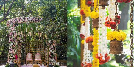 Add Bells To Your Wedding Decor For A Rustic Charm