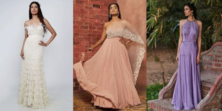 Where Can You Buy A Cocktail Gown From For Your Intimate Wedding Under 50K?