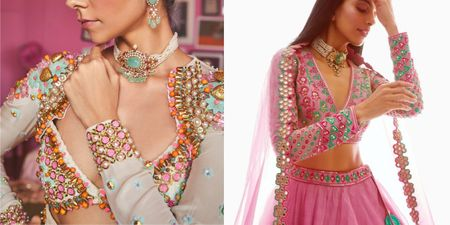 Appliqués Are The Next Big Thing In Lehengas & Here's Proof!