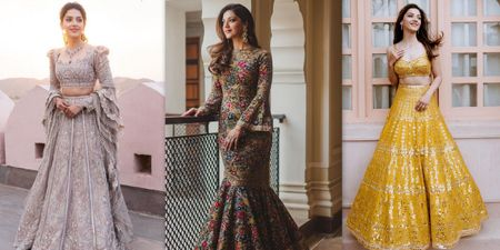 12 Times We Looked Through Mehreen Pirzada's Closet For Wedding Fashion Inspo!