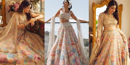 We Found A Fresh New Lehenga Perfect For Your Day Wedding!