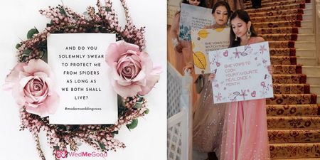 These Instagrammable Modern Wedding Vows Will Crack You Up!