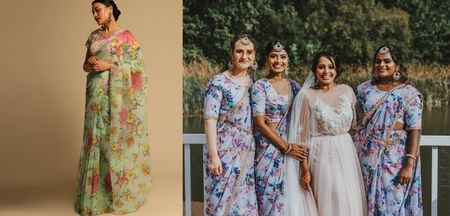 Floral Sarees For Summer Weddings- A BFF Special