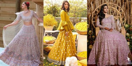 7 Lehengas Without A Dupatta Which Are Perfect For Your Sangeet