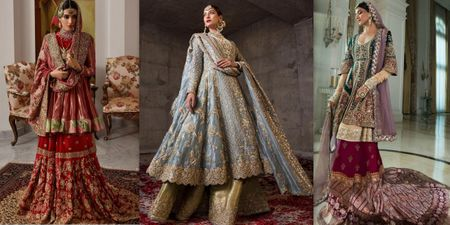 The Most Stunning Shararas & Ghararas For Muslim Brides