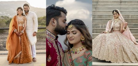 A Glam 25 People Wedding In Aamby Valley With Pin-Worthy Outfits