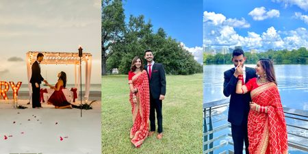 A Grand Cancun Proposal Planned By The Bride Followed By An Intimate Court Marriage
