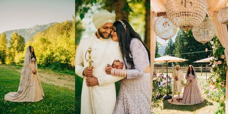 Gorgeous 'Plan B' Canada Wedding That Was Literally Executed In Mere Hours After Disaster Struck