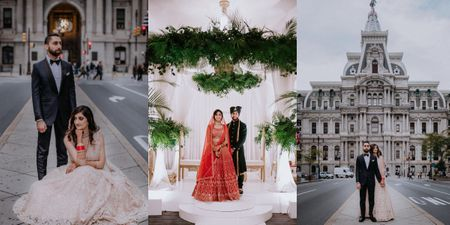 Elegant Pre Pandemic Philly Wedding With A Gorgeous Reception Shoot