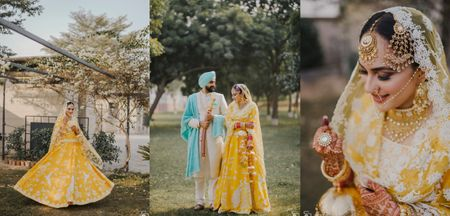 An Intimate Anand Karaj In Bride's Ancestral Village