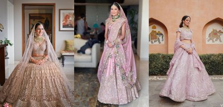 Is Powder Pink The New Red In Bridal Lehengas In 2021-22?