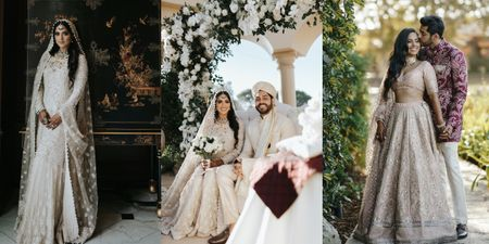 An Intimate LA Wedding Followed By A Gorgeous First Anniversary Celebration