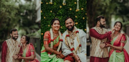 A Sweet, Intimate Home Wedding In Bangalore