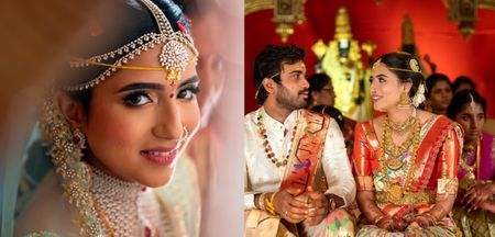 Enchanting Hyderabad Wedding With 2 Completely Different Bridal Looks