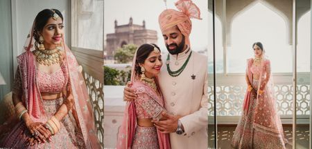 Gorgeously Intimate Mumbai Wedding With The Bride In Pink