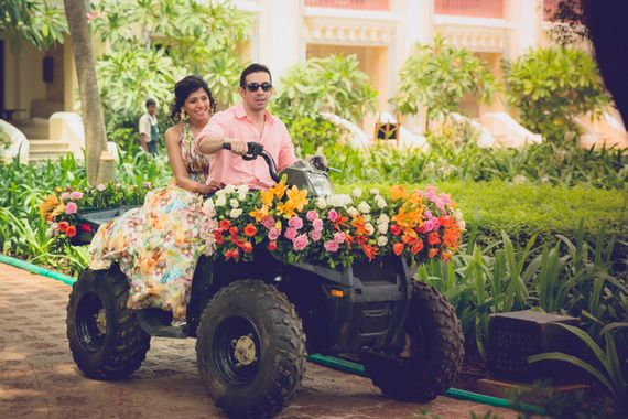 15 Fun Bride & Groom Entry Ideas At The Reception That Will Make ...