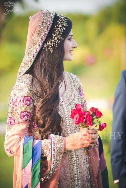 6 Hairstyle Ideas We Can Emulate From Pakistani Brides Wedmegood