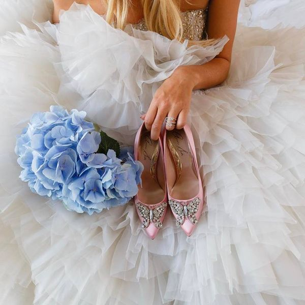 """british shoe designer aruna seth filmmaker Meghan markle will inject """"la glam"""" to the royal dress code on her wedding day, according to the designer in the running to make her shoes aruna seth's label was chosen by pippa middleton to wear at her sister kate's wedding to prince william in 2011 and her footwear is also favoured by princesses beatrice and eugenie."""